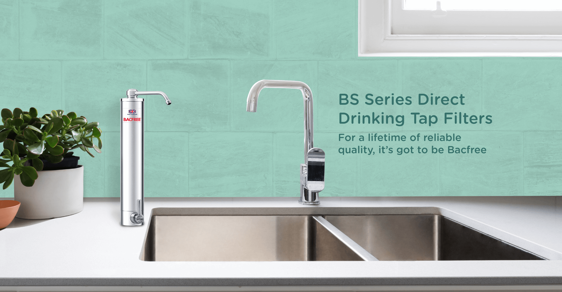 Bacfree BS3 Direct Drinking Water Filter and Purifier - Cover Image