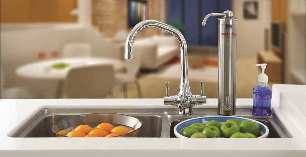 BS3 Sink Top Mounting Water Filter for Direct Drinking Water