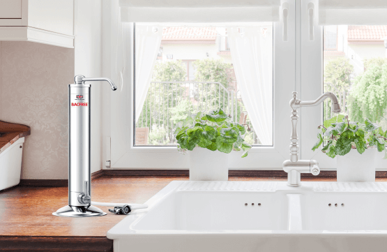 BS3A Portable Sink Top Water Filter for Direct Drinking Water